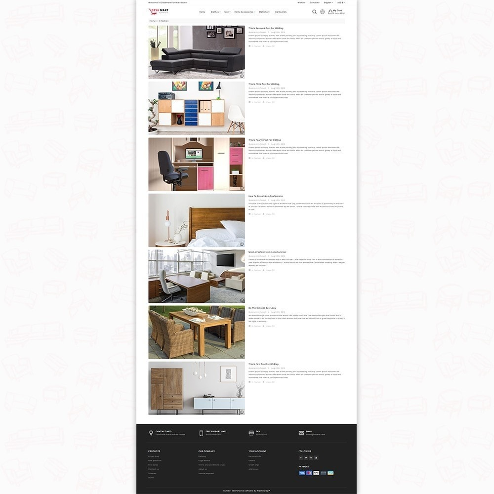 theme - Home & Garden - DeskMart  - The Furniture Shop - 6