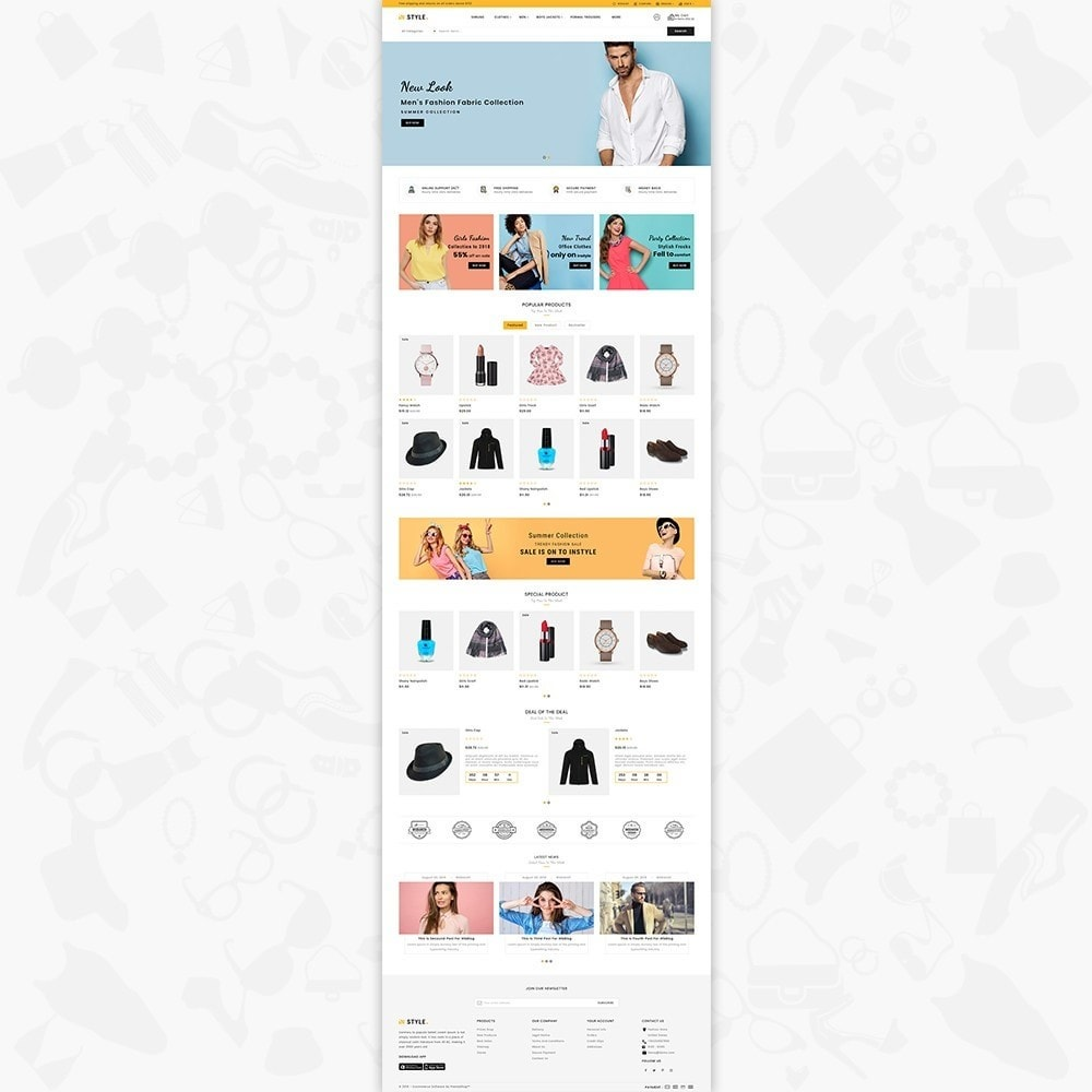 theme - Fashion & Shoes - InStyle Shop Store - 2