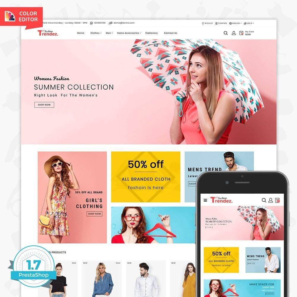 theme - Electronics & Computers - Trenz Fashion- The Fashion Shop - 1