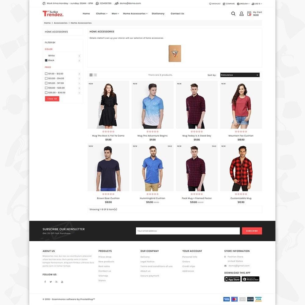 theme - Electronics & Computers - Trenz Fashion- The Fashion Shop - 3