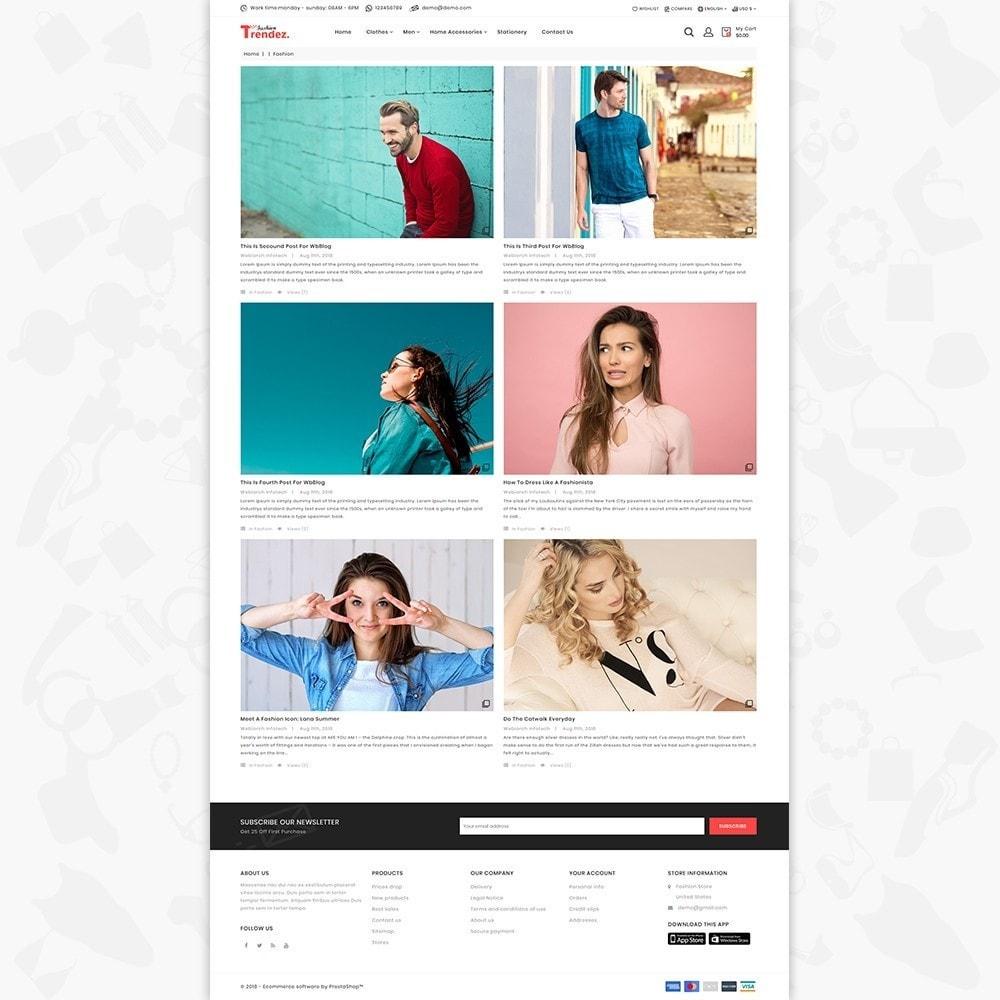 theme - Electronics & Computers - Trenz Fashion- The Fashion Shop - 6