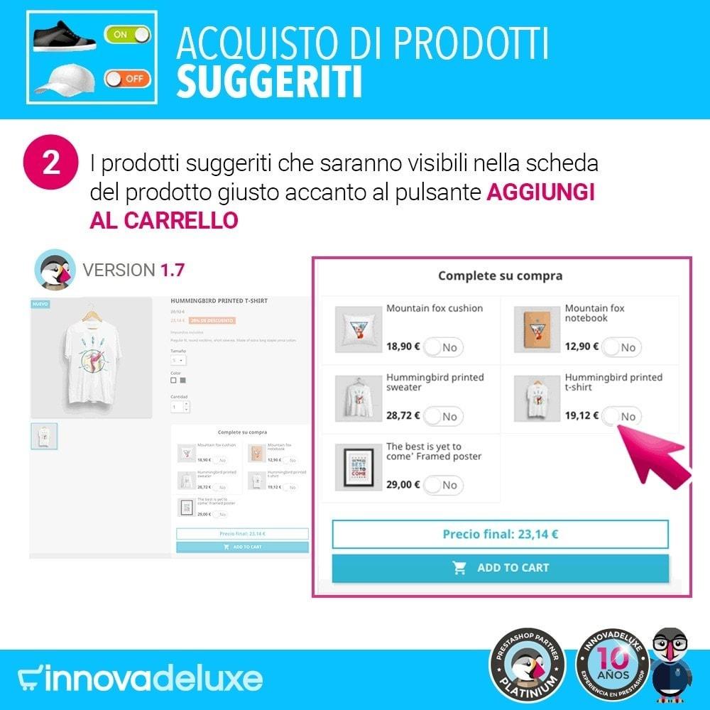 module - Cross-selling & Product Bundle - Prodotti suggeriti per l'acquisto d'impulso - 4