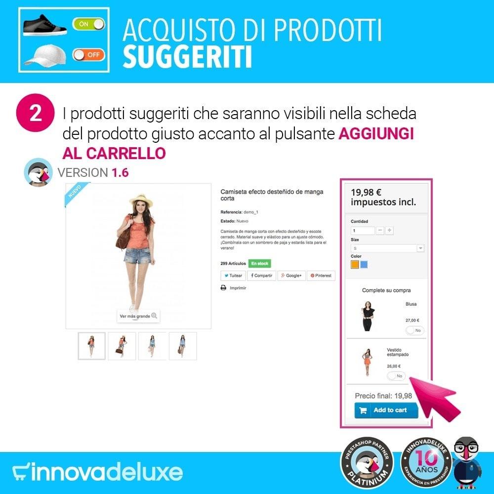 module - Cross-selling & Product Bundle - Prodotti suggeriti per l'acquisto d'impulso - 5