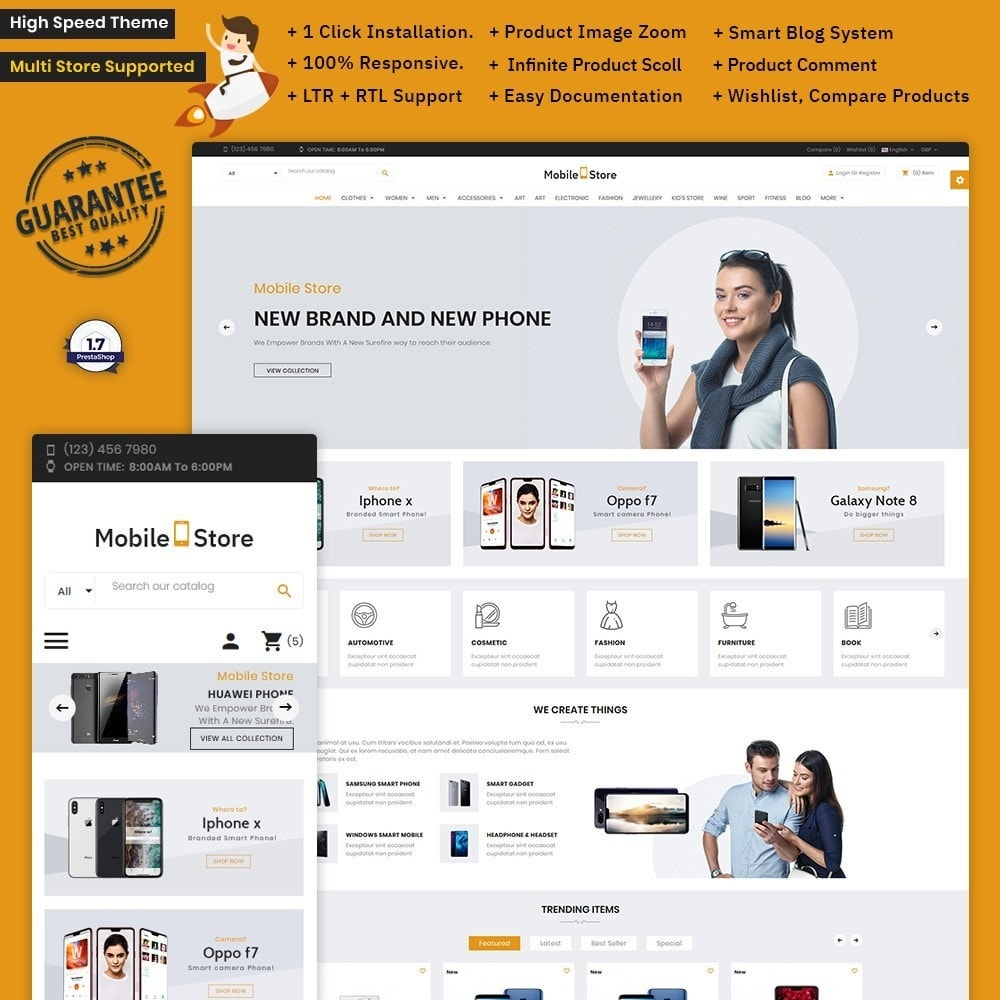 theme - Electronics & Computers - Mobile  Store – Electronic Store - 1