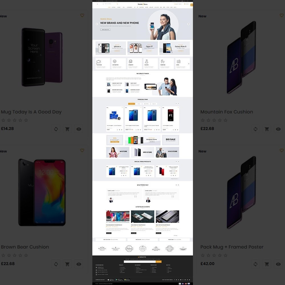 theme - Electronics & Computers - Mobile  Store – Electronic Store - 2