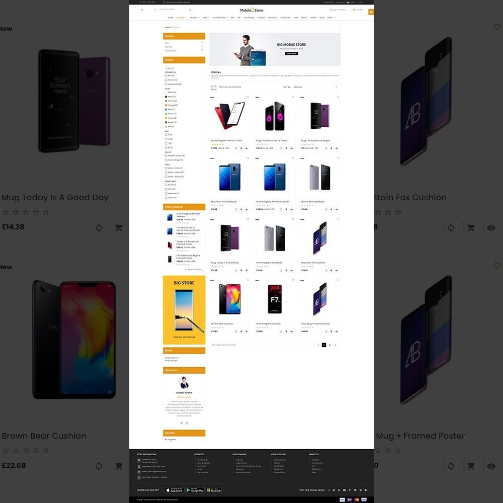 theme - Electronics & Computers - Mobile  Store – Electronic Store - 3