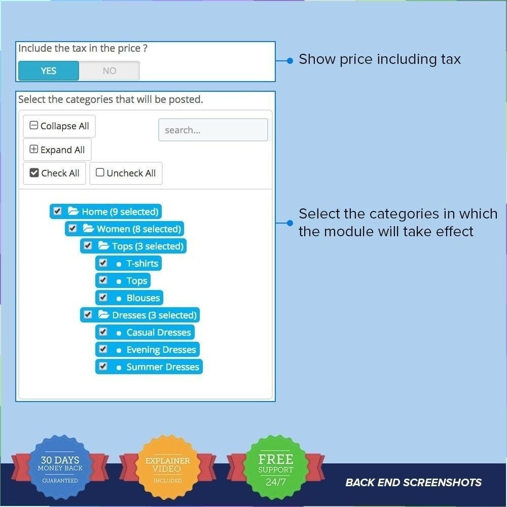 module - Productos en Facebook & redes sociales - Social Wall Post PRO - 3