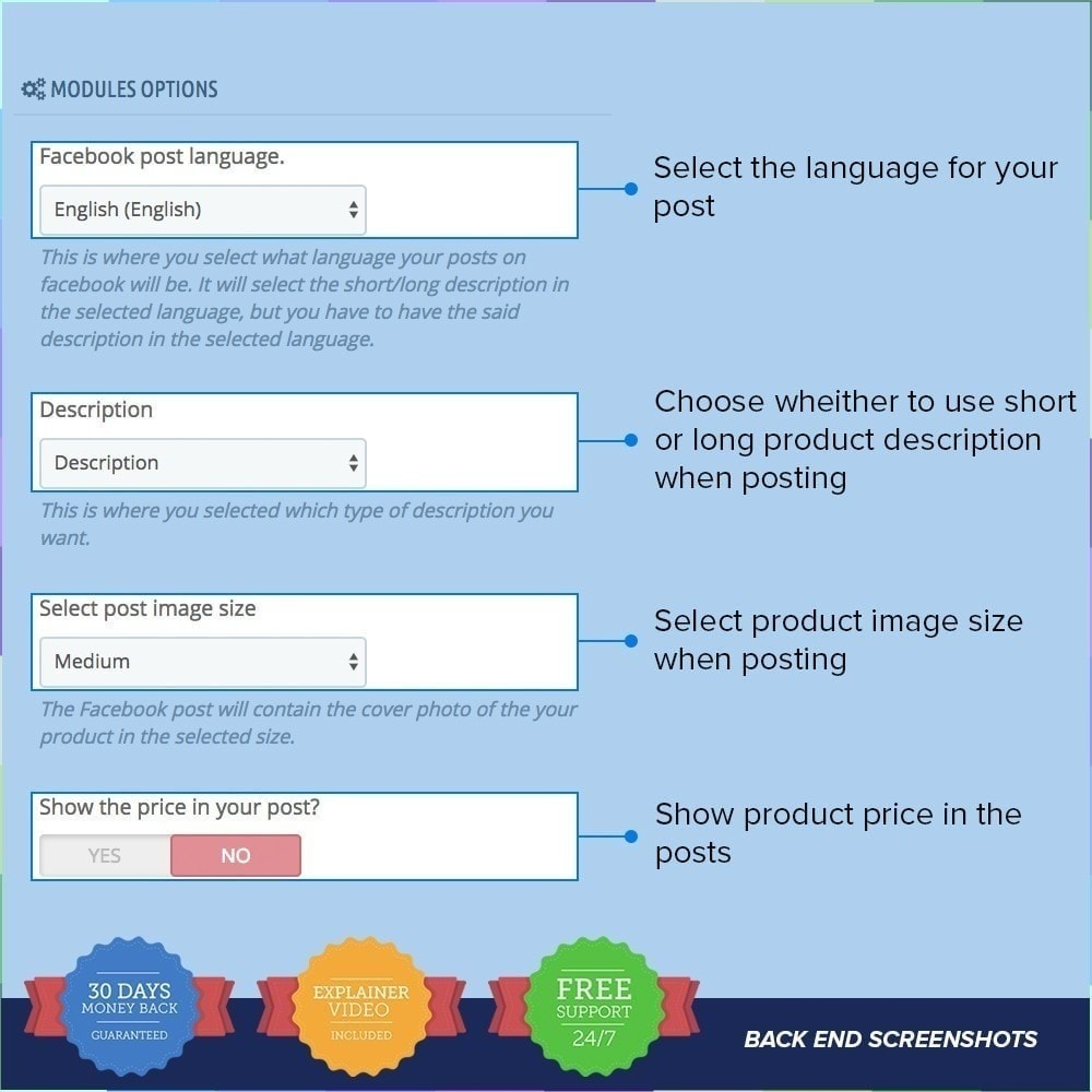 module - Prodotti sui Facebook & Social Network - Social Wall Post PRO - 2