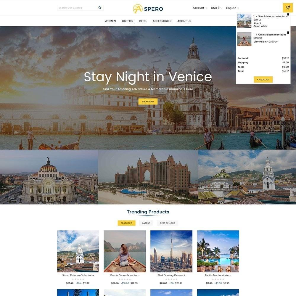 theme - Sport, Loisirs & Voyage - Aspero Travel Store - 2
