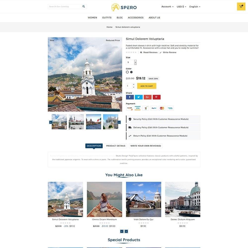 theme - Sport, Loisirs & Voyage - Aspero Travel Store - 3