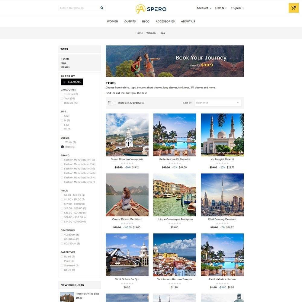 theme - Sport, Loisirs & Voyage - Aspero Travel Store - 4