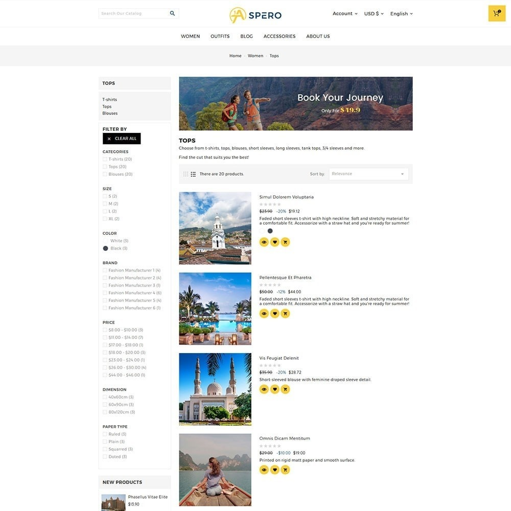 theme - Sport, Loisirs & Voyage - Aspero Travel Store - 5