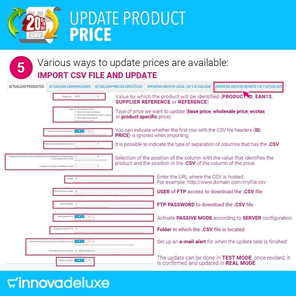 module - Быстрое & массовое редактирование - Product Price Updater - 6