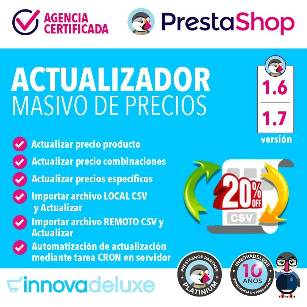 module - Edición Rápida y Masiva - Actualizador masivo de precios - 1