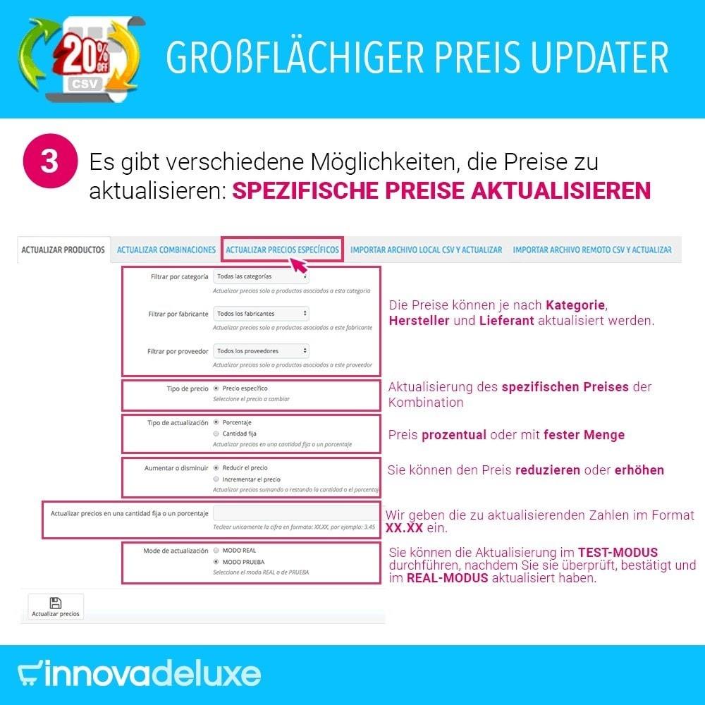 module - Quick Eingabe & Massendatenverwaltung - Massiver Preisaktualisierer - 4