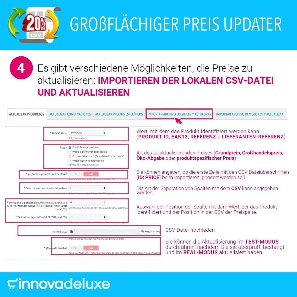 module - Quick Eingabe & Massendatenverwaltung - Massiver Preisaktualisierer - 5