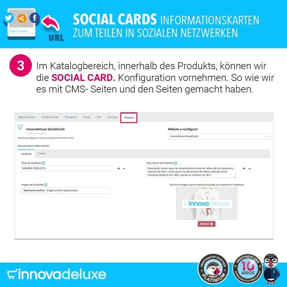 module - Teilen & Kommentieren - SocialCards, Karten zum Teilen in sozialen Netzwerken - 4