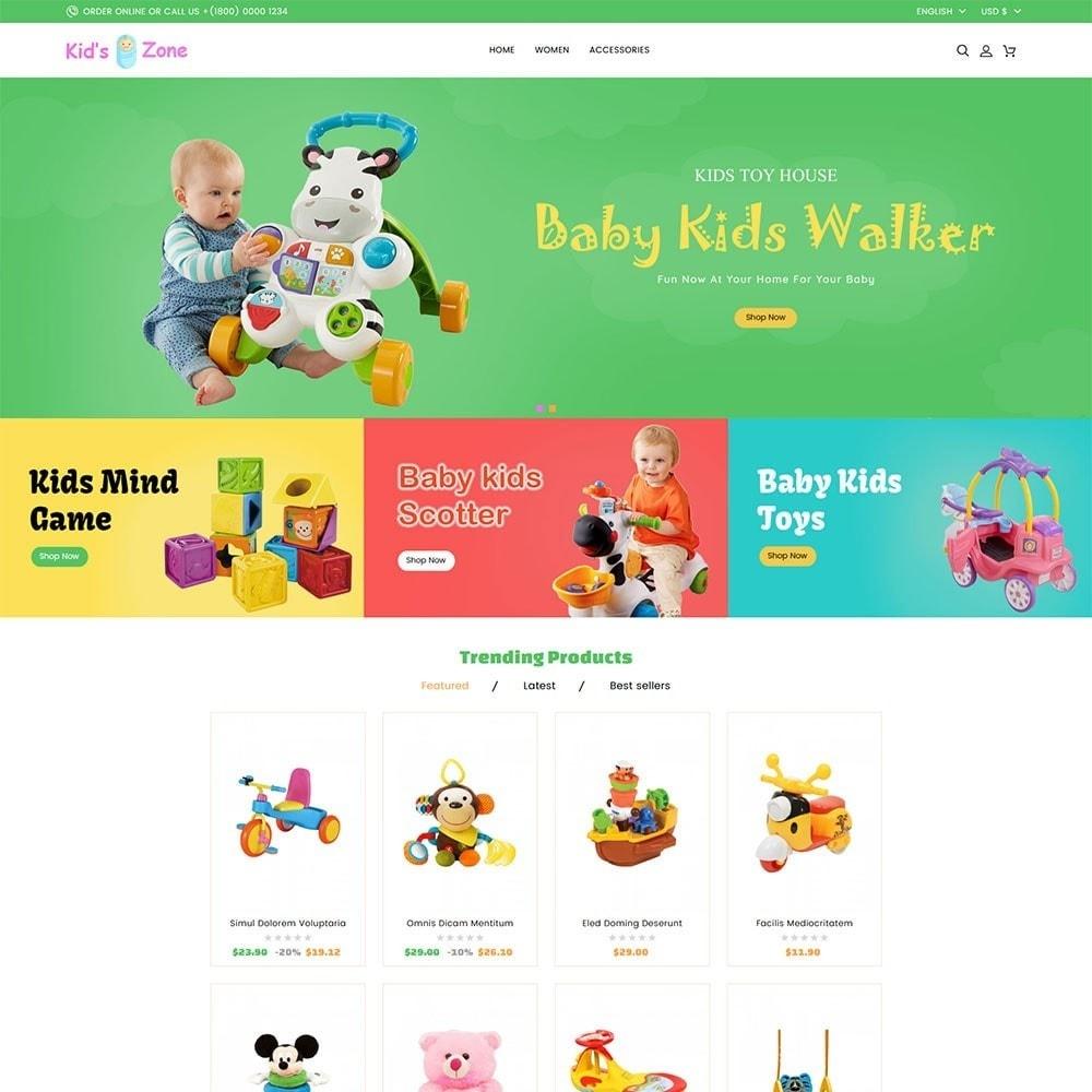 theme - Kids & Toys - Kids World Toy Store - 2