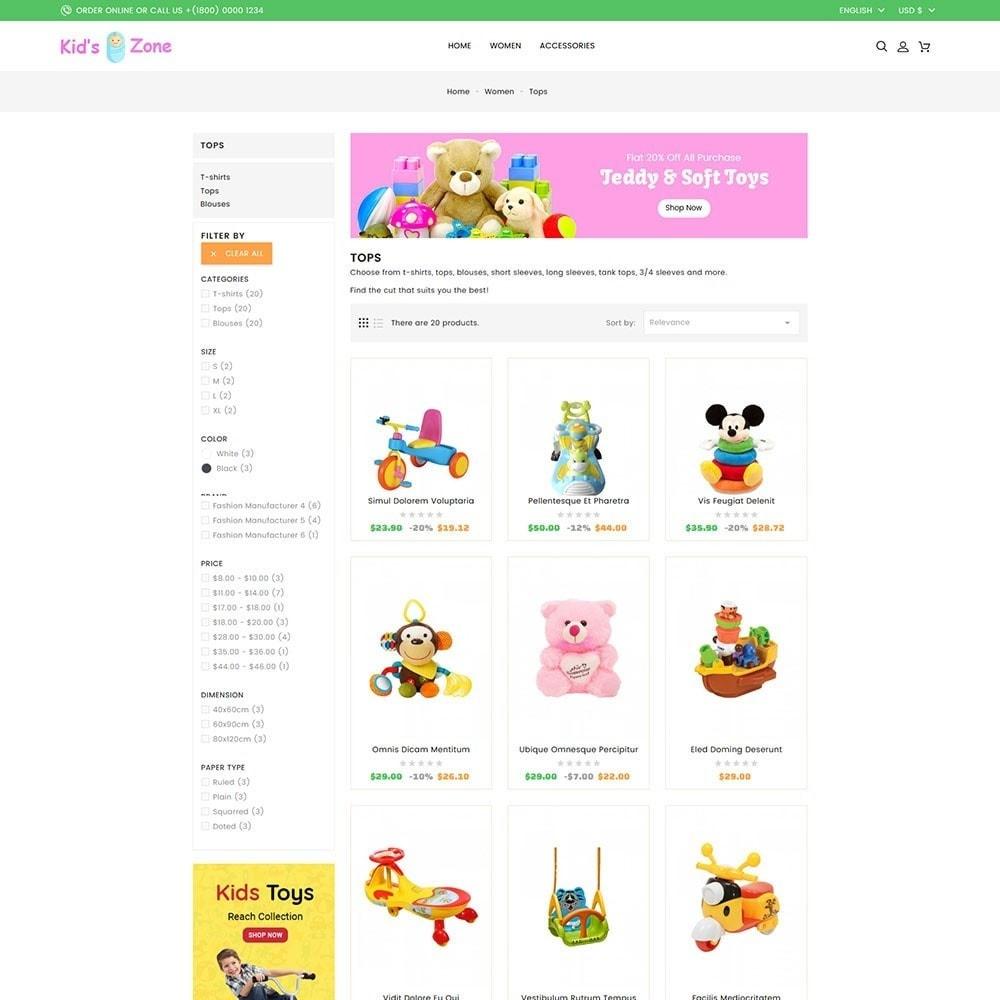 theme - Kids & Toys - Kids World Toy Store - 5