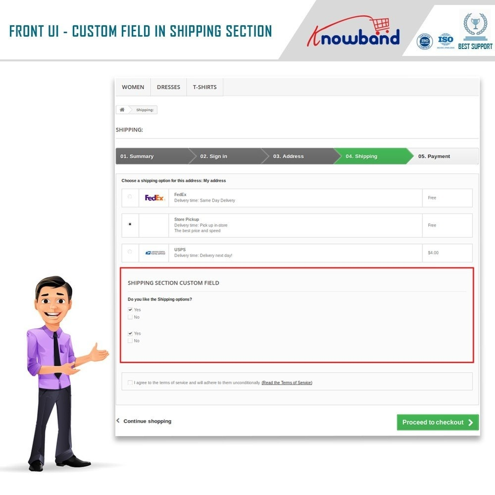 module - Registration & Ordering Process - Knowband - Additional Order Forms/Field Manager - 3
