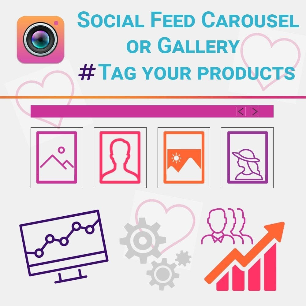 module - Widgets para redes sociales - Instagram Feed Carousel or Gallery with NEW API - 1