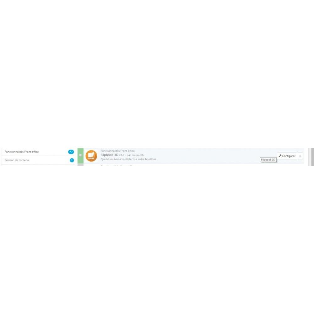 module - Показ товаров - 3D Flipbook - 2