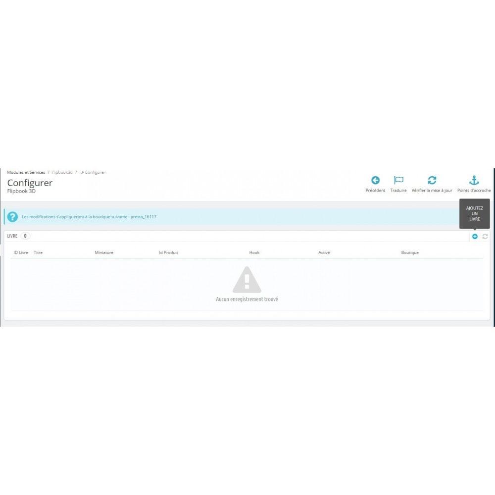 module - Показ товаров - 3D Flipbook - 3