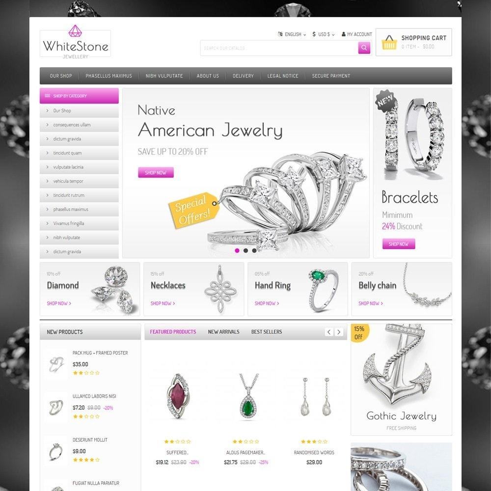 theme - Ювелирные изделия и Аксессуары - Whitestone  - The Jewelry Shop - 2