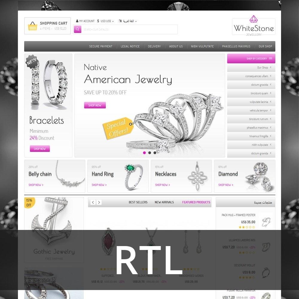 theme - Ювелирные изделия и Аксессуары - Whitestone  - The Jewelry Shop - 3