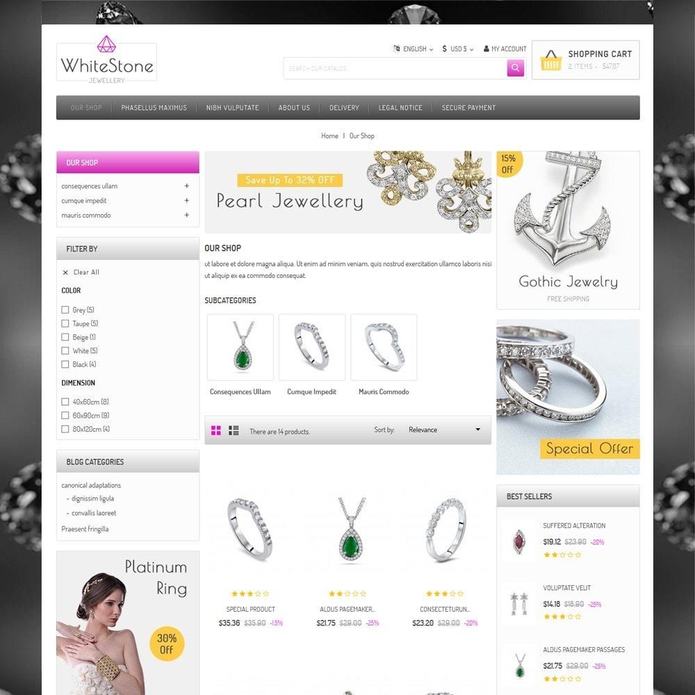 theme - Ювелирные изделия и Аксессуары - Whitestone  - The Jewelry Shop - 4