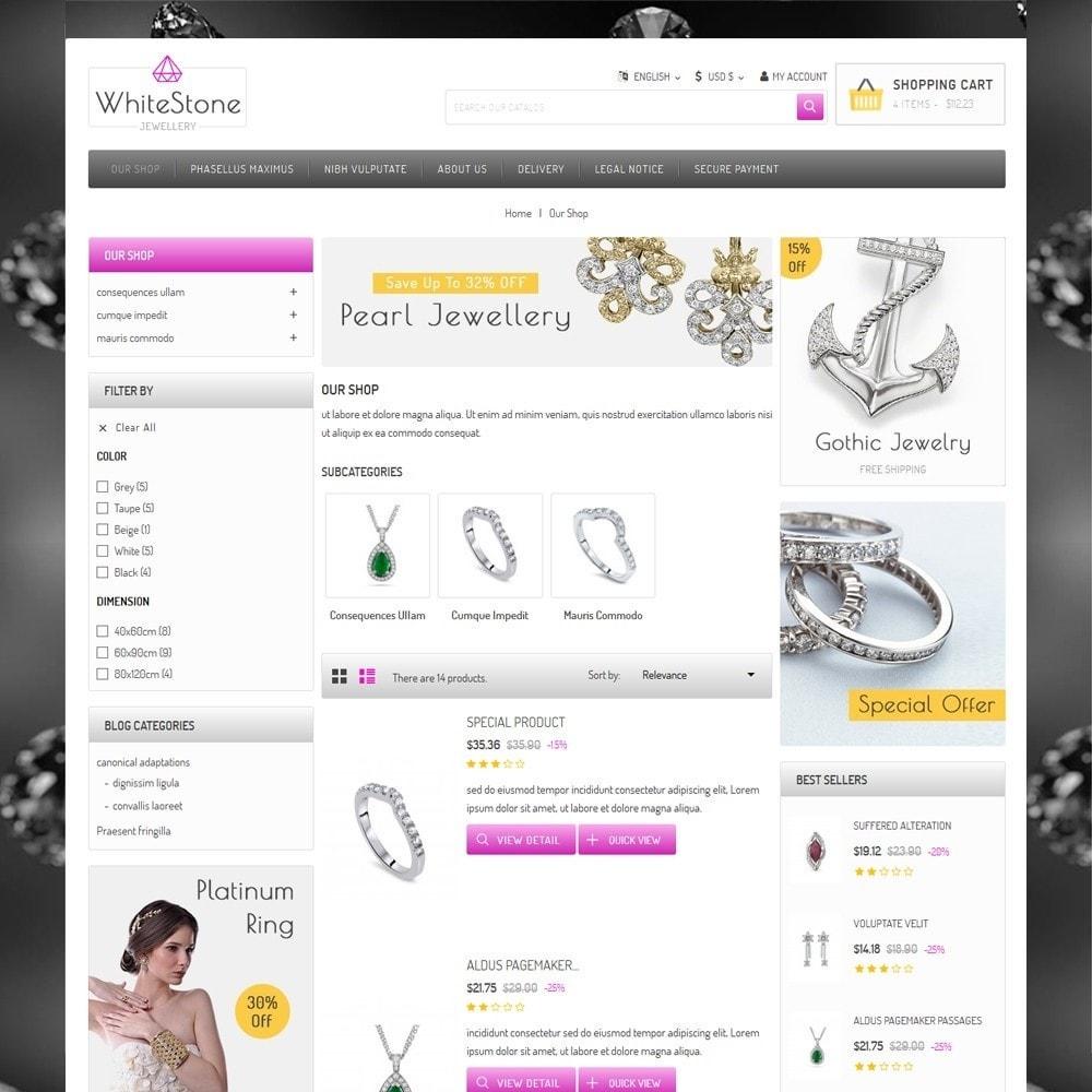 theme - Ювелирные изделия и Аксессуары - Whitestone  - The Jewelry Shop - 5
