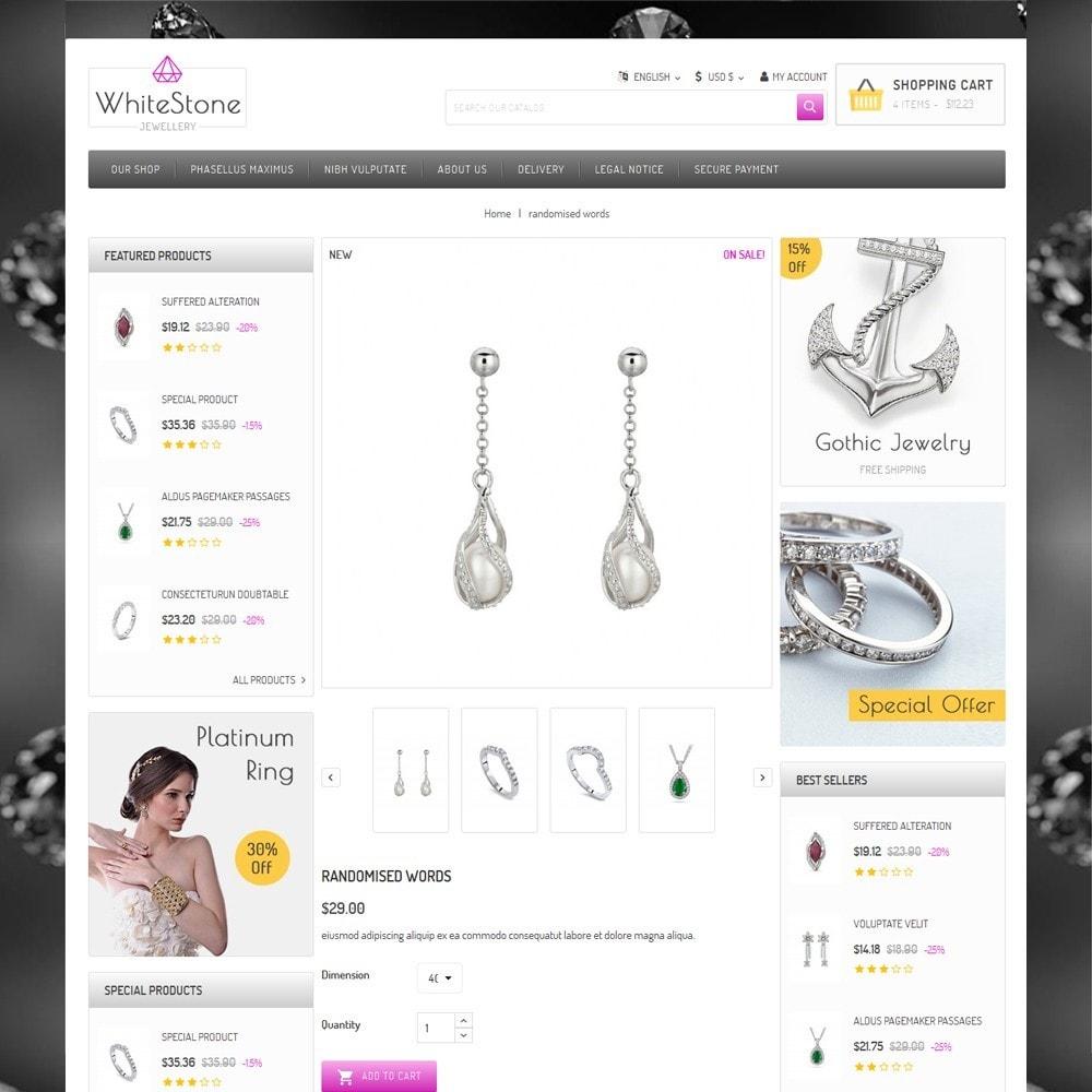 theme - Ювелирные изделия и Аксессуары - Whitestone  - The Jewelry Shop - 6