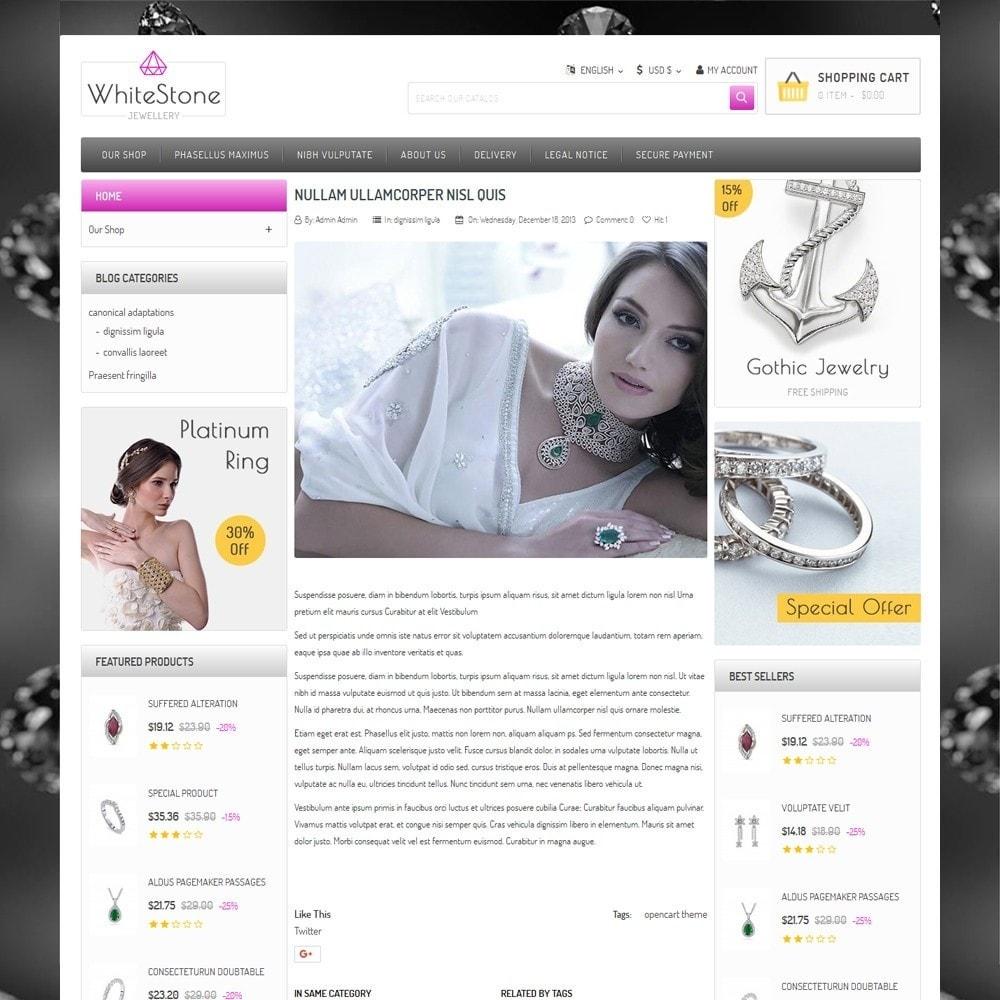 theme - Ювелирные изделия и Аксессуары - Whitestone  - The Jewelry Shop - 7