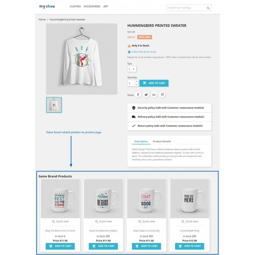 module - Бренды и производители - Brand related products on product page - 4