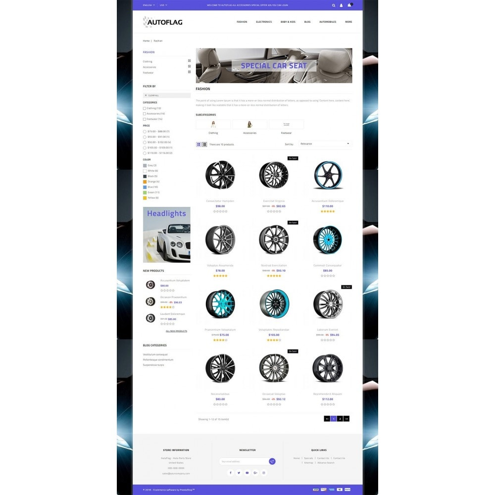 theme - Automotive & Cars - AutoFlag Store - 3