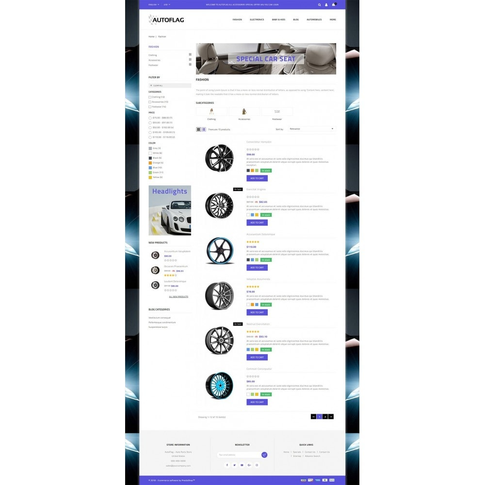 theme - Automotive & Cars - AutoFlag Store - 4