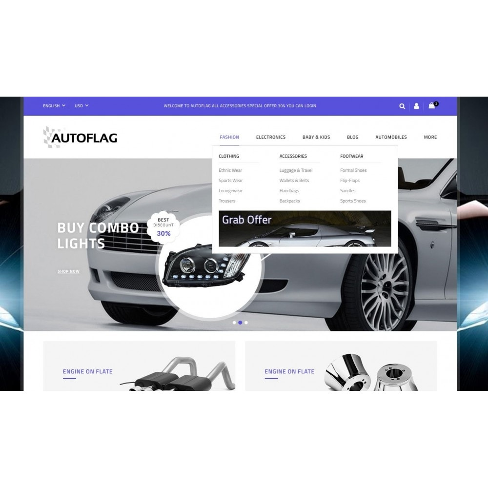 theme - Automotive & Cars - AutoFlag Store - 6