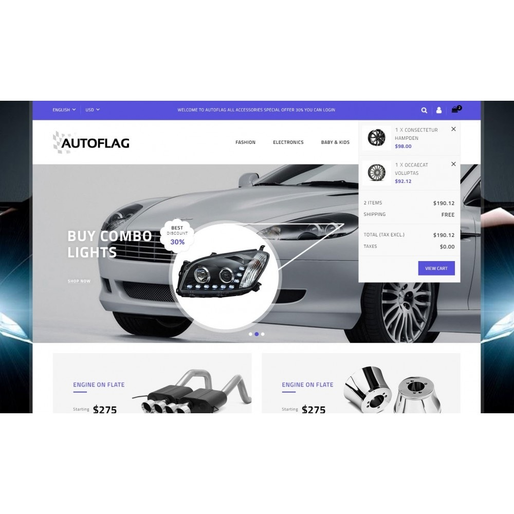 theme - Automotive & Cars - AutoFlag Store - 8