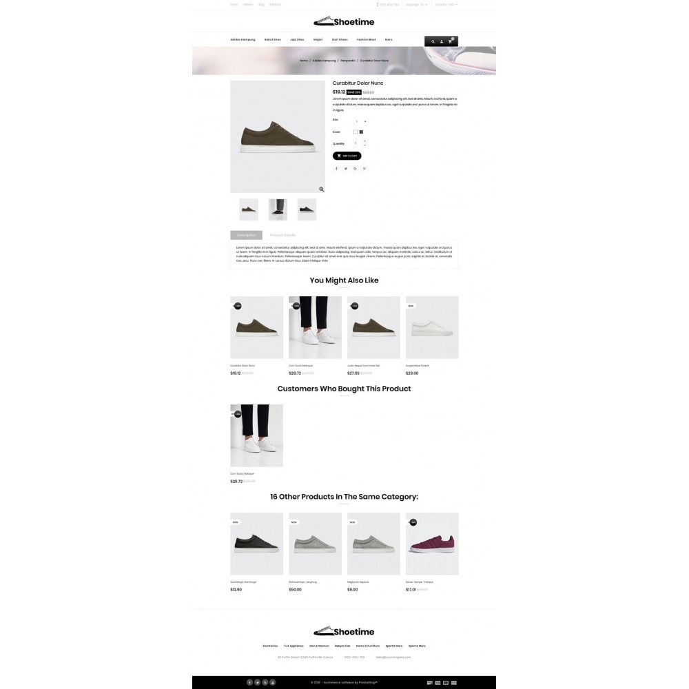 theme - Fashion & Shoes - Shoetime - Fashion Accessories Store - 4