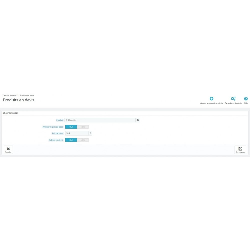 module - Angebotsmanagement - Quotation Pro - 8