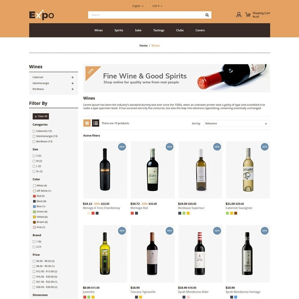 theme - Drink & Tobacco - Expo - Wine Store - 2