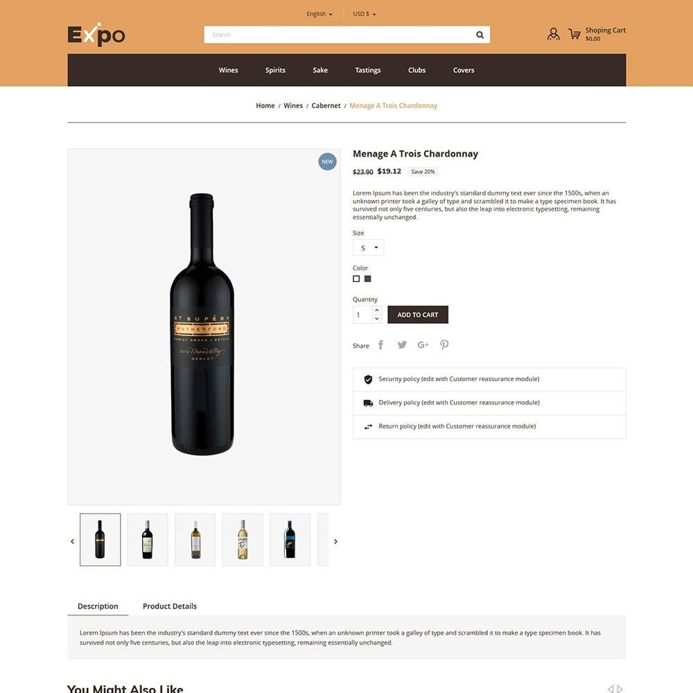 theme - Drink & Tobacco - Expo - Wine Store - 5