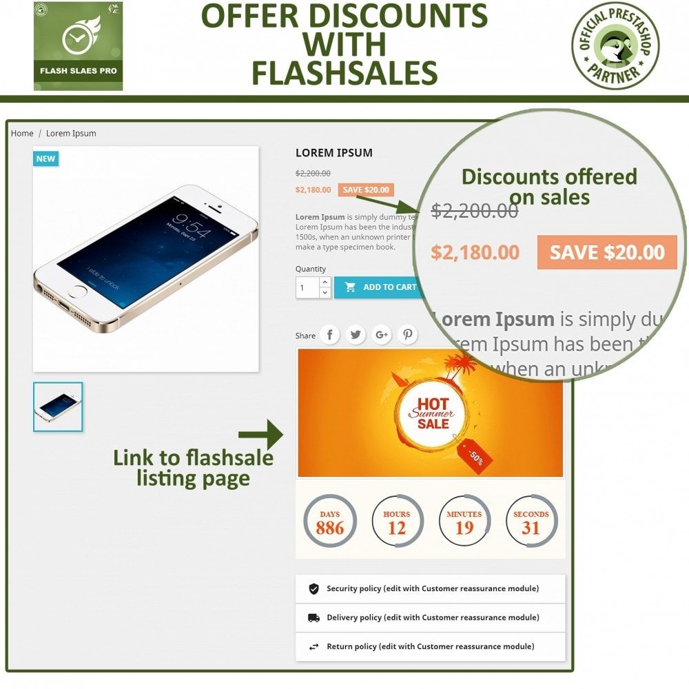 module - Flash & Private Sales - Flash Sales Pro - Discount with Countdown Timer - 7