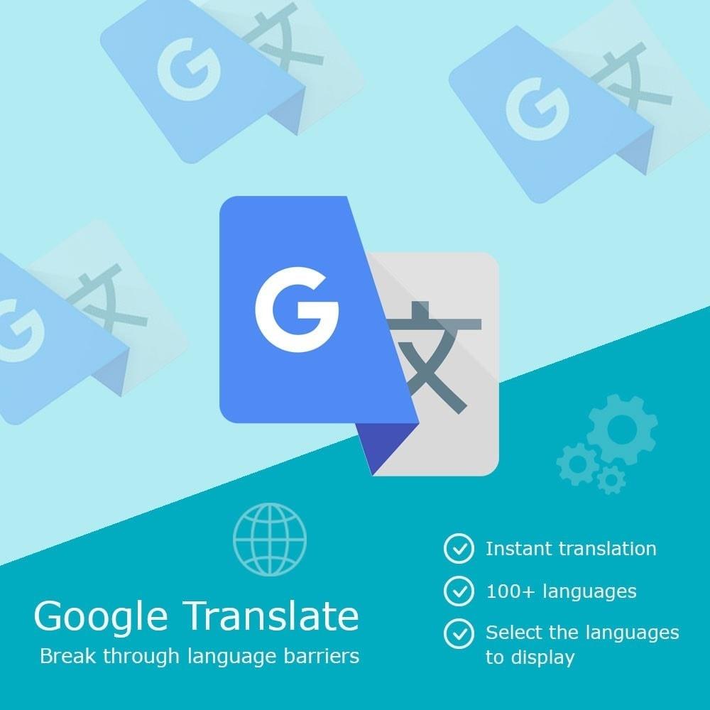 module - Международный рынок и геолокация - Google Translate Block - 1
