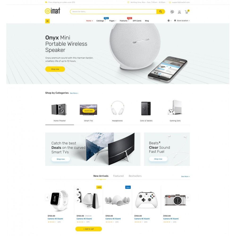 theme - Eletrônicos & High Tech - iMart Supermarket Store - 2