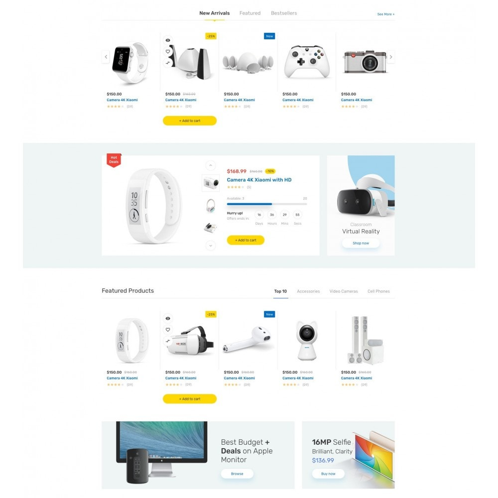 theme - Eletrônicos & High Tech - iMart Supermarket Store - 3
