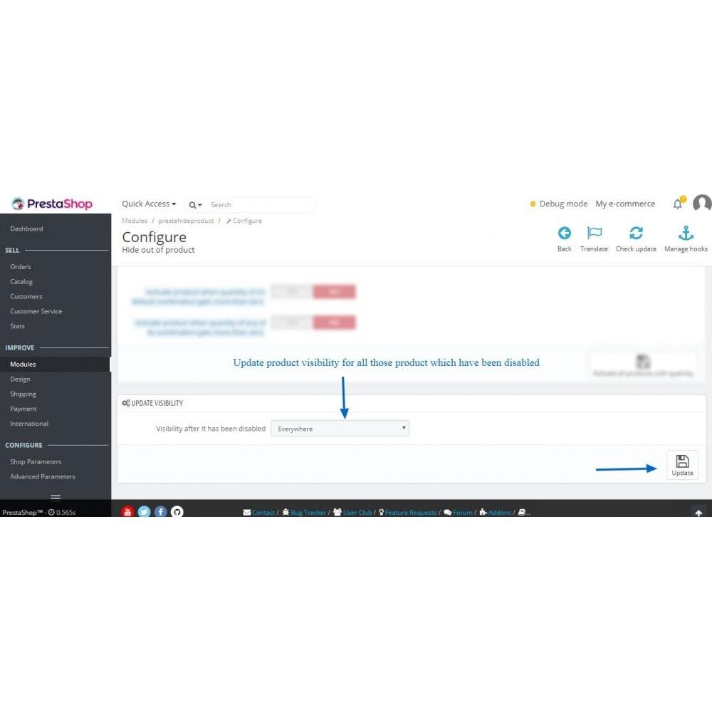module - Gestión de Stock y de Proveedores - Hide out of stock product automatically - 9