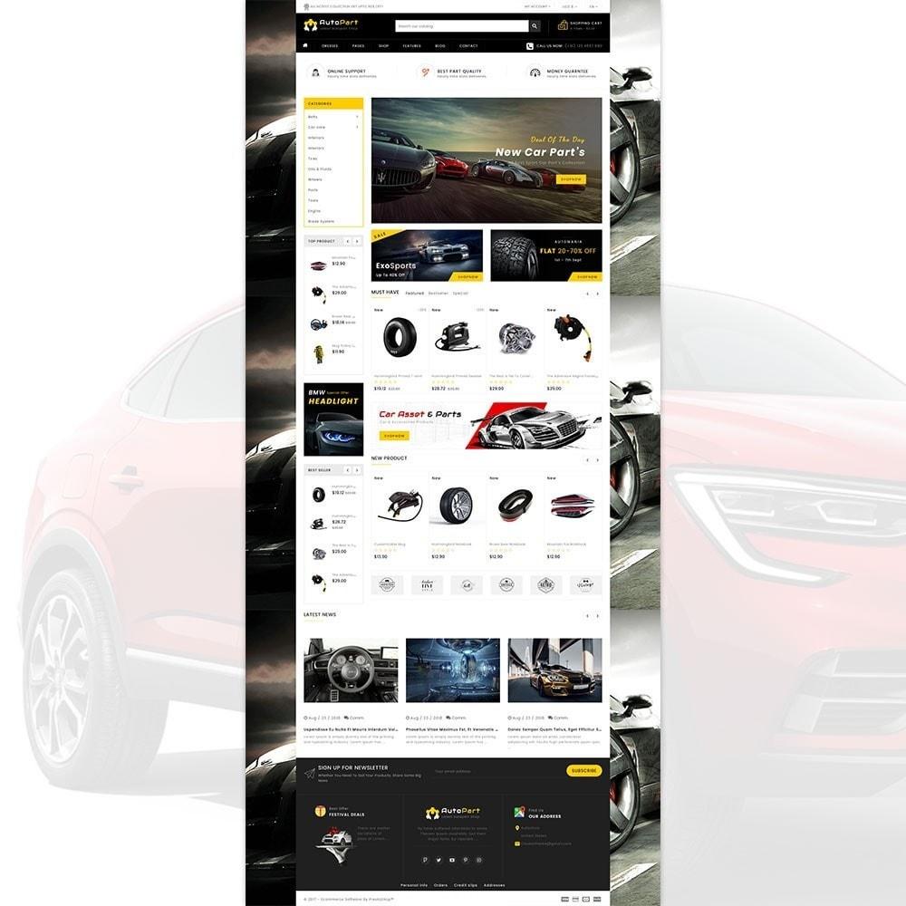 theme - Automotive & Cars - Autopart - Cars & Automotive Store - 2