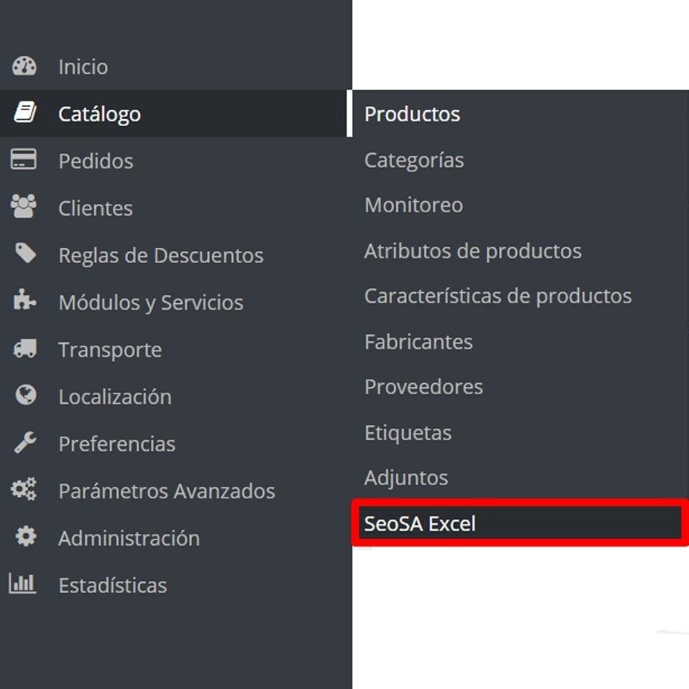 module - Importación y Exportación de datos - Importar producto desde Microsoft Excel - 9