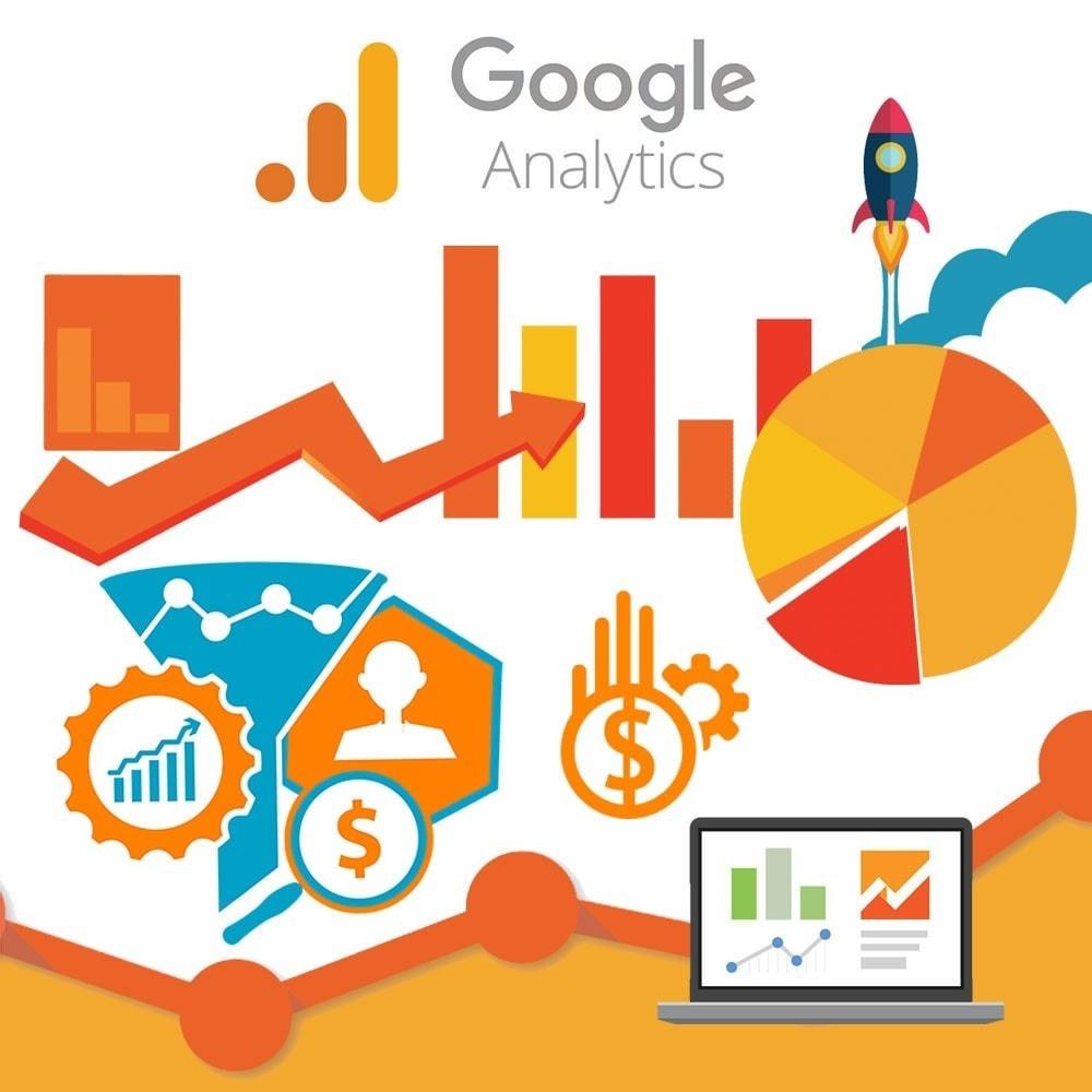 module - Analyses & Statistiques - Google Analytics with Universal Analytics GA4 - 1